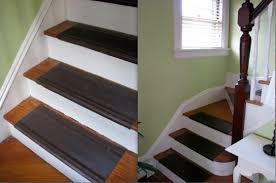 diy install a colorful stair runner