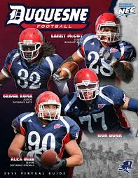 2011 duquesne football virtual guide by dave saba issuu