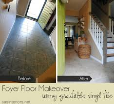 How To Lay Laminate Flooring In A Hallway Diy Installing Groutable Luxury Vinyl Tile Jenna Burger