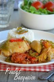 cuisine poulet basquaise poulet basquaise le de c est nathalie qui cuisine