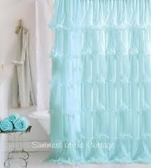 Cute Shower Curtain Hooks Anthropologie White French Lace Netting Ruffle Shower Curtain