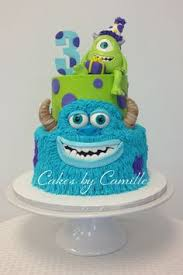 monsters cake twins party