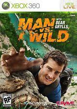 Backyard Sports Sandlot Sluggers Xbox 360 Man Vs Wild With Bear Grylls Microsoft Xbox 360 2011 Ebay