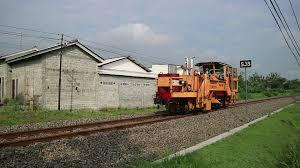 Kereta Api Kereta Api Teknik Plasser Theurer Vdm 800 Gs Sr 388 16 Daop 7