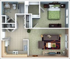 1 bedroom apartment plans home design popular beautiful to 1