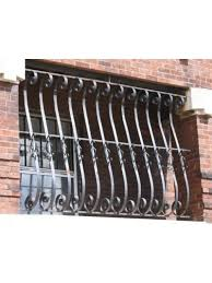 early 20th century antique s curved design wrought iron balcony
