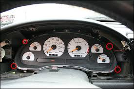 2001 Mustang Custom Interior How To Install Led Lights In Your Mustang Gauge Cluster