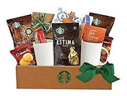 california gifts california delicious starbucks coffee and cocoa gift