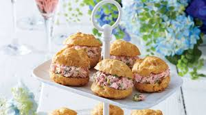 sides for ham cheese puffs with ham salad recipe southern living