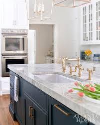 navy blue kitchen cabinets with brass hardware the best kitchen trends for 2018 29 design studio