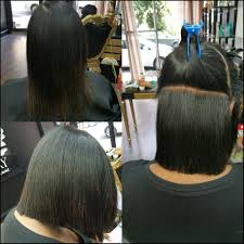 precision cut on natural hair with silk press u2026 pinteres u2026