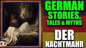 german myths legends der nachtmahr where do nightmares