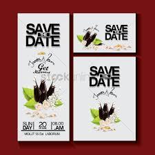 Invitational Cards Wedding Invitational Card Design Vector Image 1996333