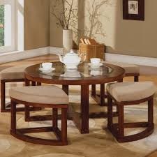 coffee table new round tufted ottoman coffee table ideas with