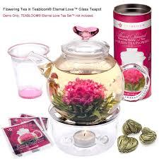 Jasmine Tea Flowers - flowering tea sampler