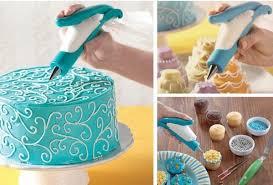 cara membuat hiasan kue ulang tahun anak nordicware e z deco icing pen pen penghias kue barang unik