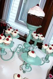 chandelier cupcake stand 74 best exhibidores y stand images on petit fours