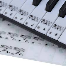 piano key notes best transparent piano key note keyboard stickers learn teach to
