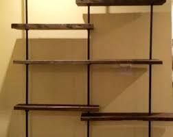 pipe shelves etsy