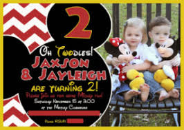 oh twodles a mickey and minnie themed twin birthday party