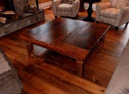 Rustic Square Coffee Table With Storage Rustic Square Coffee Table Square Coffee Tables With The Storage