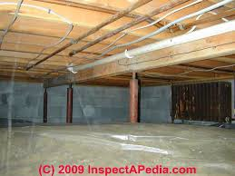 vapor barriers basement ceiling wall moisture barrier material