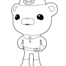 kwazii captain barnacles octonauts coloring