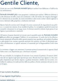 sede legale assicurazioni alleanza toro spa divisione lloyd italico sede legale