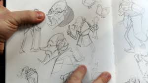 jazza u0027s sketchbook tour character design tale teller youtube