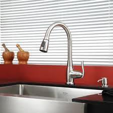 kitchen cool undermount kitchen sinks brushed nickel faucet