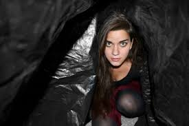 halloween horror nights chance actress cara is devoted to you in forever from shine on collective