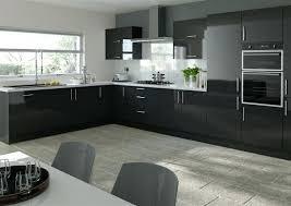 Black Gloss Kitchen Cabinets Gloss Kitchen Cabinets High Gloss Black Kitchen Cabinets High