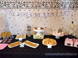 parisian baby shower baby shower ideas munchkins