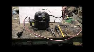diy how to make a high pressure air setup from a refrigerator