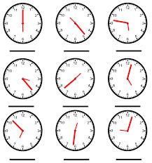 spanish telling time worksheets worksheets