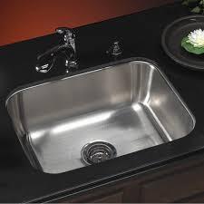 Single Bowl Kitchen Sink Undermount Houzer Ms 2309 1 Medallion Classic Series Undermount Stainless