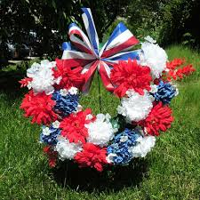 memorial day wreath kremp