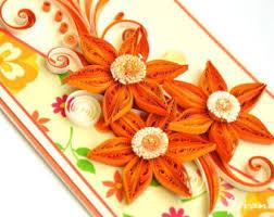 orange card etsy