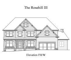 Kimball Hill Homes Floor Plans by Rosehill Iii Sharp Residential