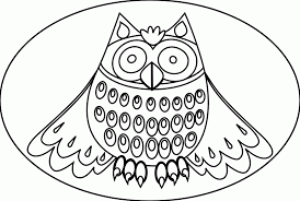 cool owl coloring pages coloring home