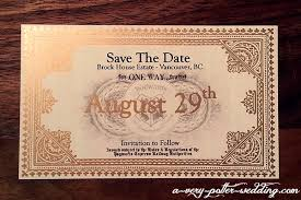 save the dates magnets hogwarts express save the date magnets a potter wedding