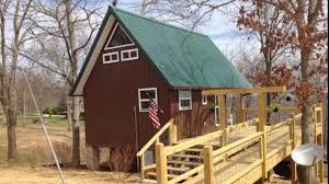 Tiny Cabin by Amazing Tiny Cabin On Stilts In Altamont Tennessee Youtube