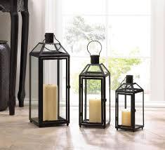 home decor lanterns midtown large black lantern wholesale at koehler home decor