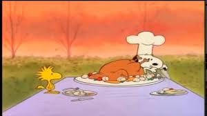 snoopy s thanksgiving dinner