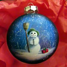 hand painted christmas ornament hand painted christmas ornaments