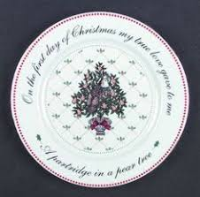 twelve days of dishes salad plate by kathrynsthisandthat