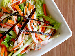 Garden Vegetable Salad by How To Make A Kani Salad 7 Steps With Pictures Wikihow