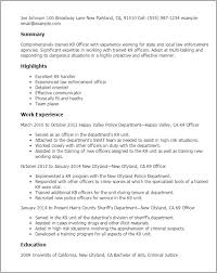 Military Police Resume Examples by Military Resume Examples Officer Essays Of Thoreau