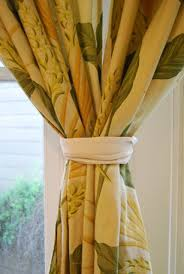 Tie Backs Curtains Tips To Tie Back Curtains Popsugar Home