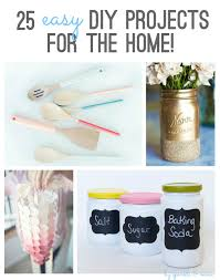 easy diy projects for home decor sparkle u0026 mine 25 easy diy projects for the home